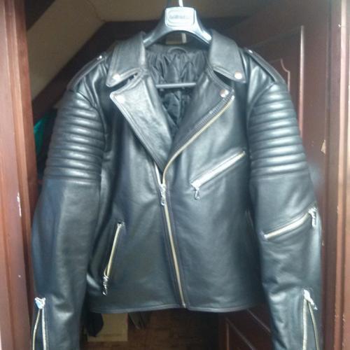 Retro motoros kabát